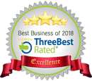 Best Business of 2018 by Rated Three Best